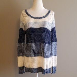 American Eagle striped sweater